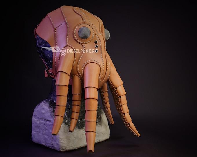 Cthulhu Leather Mask
