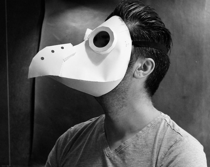 Paper Plague Doctor Mask Pattern - Pdf Download