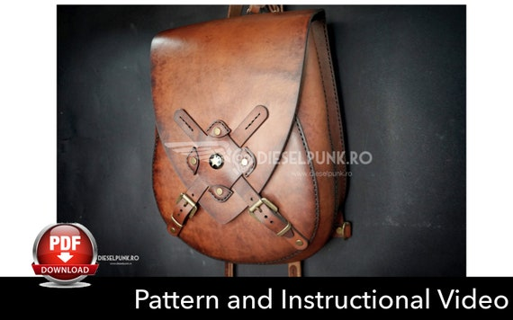 steampunk leather patterns and accessories