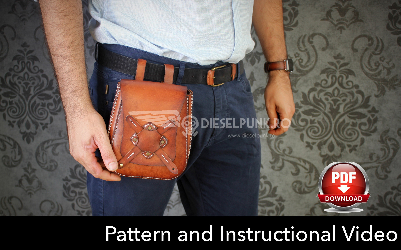 Leather Bag Pattern Pdf Amazing Inspiration Design