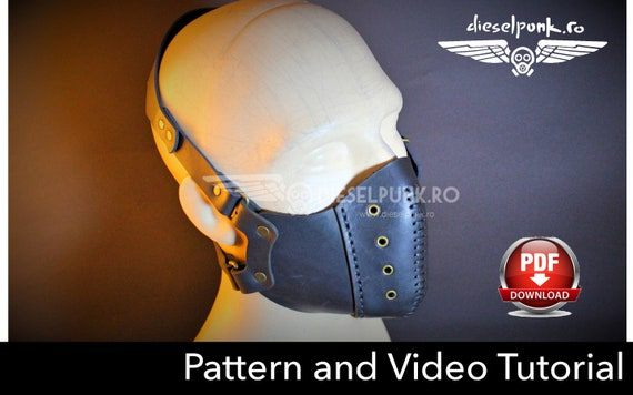 Tutorial Video - Download Pdf Diy Mask Steampunk Pattern