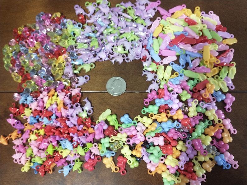 toy parts Sugar glider cage set rat small birds Sugar glider charms charms Toy charms 500pcs mixed