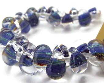 UNICORN MINI Teardrops, -Exotic Hyacinth  # 22346.  25 Beads