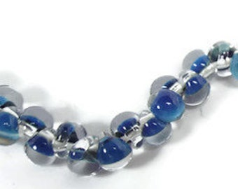 UNICORN MINI Teardrops Beads - BLUE #22332