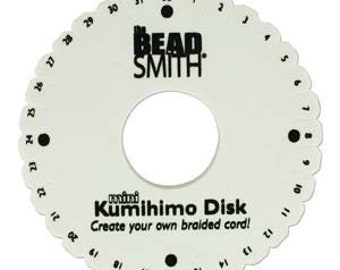 "6"" Kumihimo Foam Disk, Standard Thickness 35mm Hole"