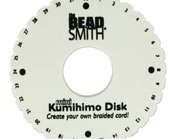 4.25 Mini Kumihimo Disk Standard Thickness