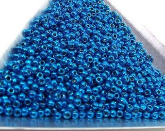 11/0 Toho Seed Beads Electric Blue. PF583   25gm, 50gm or 100gm