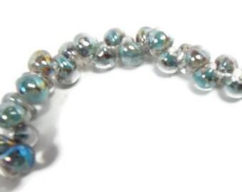 UNICORN MINI Teardrop Beads -i Easter egg #22653 25 Beads