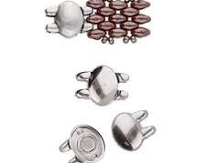 Cymbal KYPRI Superduo Magnetic Clasp Choose your Color
