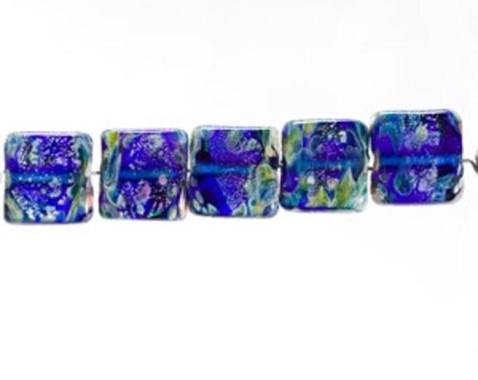 Unicorn Mini Tile Beads  Choose your Color, Blue, Purple, Green