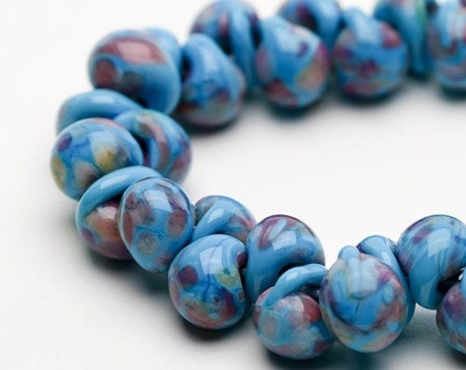 UNICORN Teardrops,  Bubble Gum  #24331, 25 beads