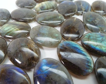 LABRADORITE, LARGE OVALS, Top Quality, Approx. 22x30mm