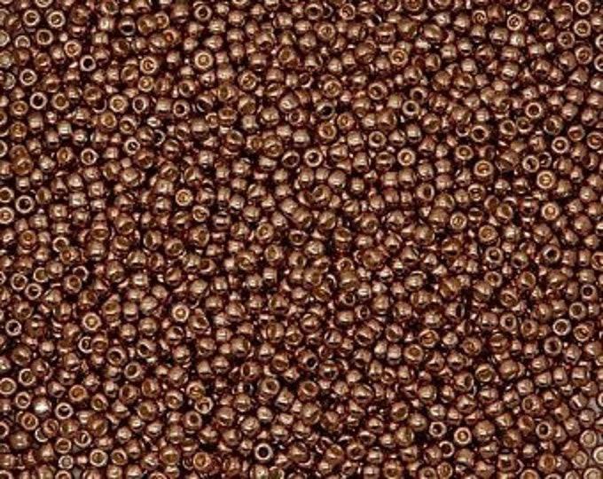 Toho, Seed Beads, 11/0,  COPPER ROSE PF 593  25gm, 50gm or 100gm