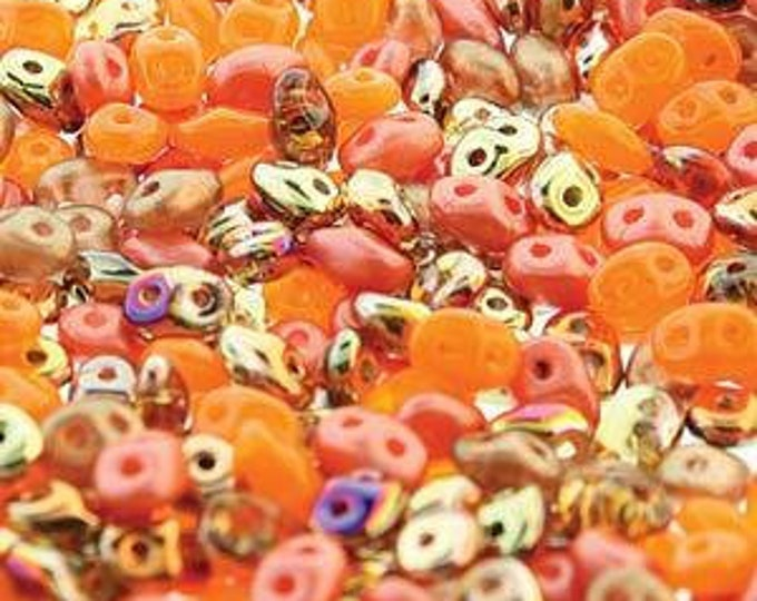 SuperDuo 2-Hole Beads Marmalade Mix 10g [DU0503000]