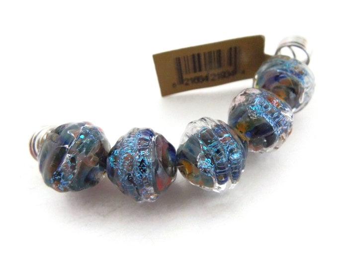 Unicorn Coconut Beads,  Choose your Color, Blue,  Green