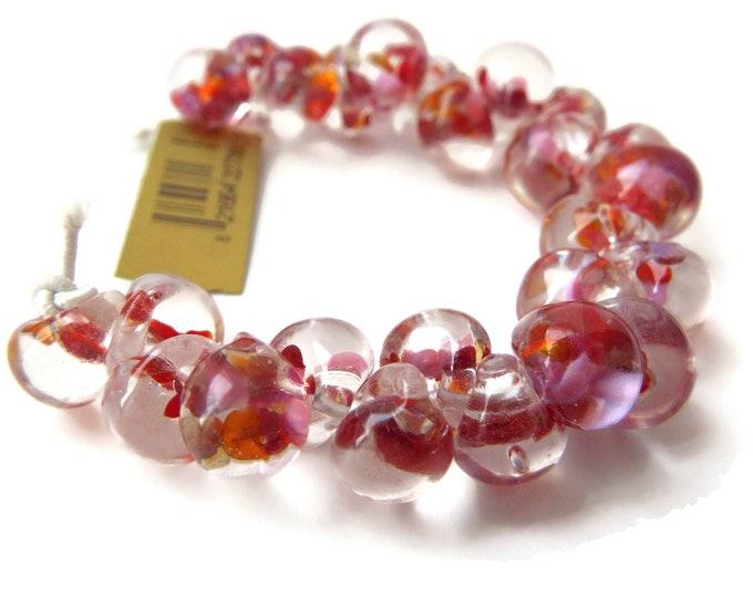 UNICORN Teardrops Exotic Series - Zinnia #2735,  25 beads