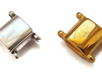 Cymbal Axos II Magnetic Clasp for Delicas Choice Gold or Silver