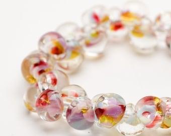 Teardrops Unicorn FLORAL LUST #4327  25 Beads