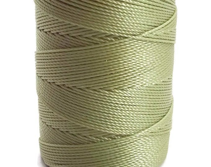 C-Lon Tex 135 Fine Weight, PERIDOT, Large Spool, 136 Yards