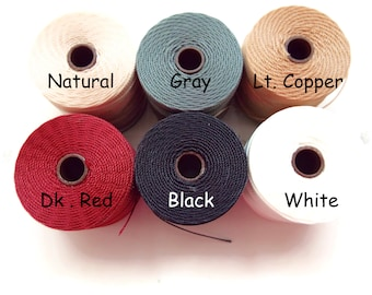 C-Lon Tex 135 Fine Weight, 118 Yards per Spool. Choose Colors