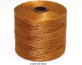 S-Lon 210, C-Lon, - GOLD   Large Spool