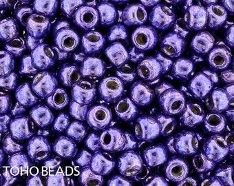 11/0, Toho, PF581, Purple, Orchid, PermaFinish, 20 Grams