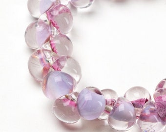 Teardrops, Unicorn MINI PINK ORCHID # 24211  25 Beads