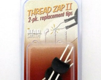 Replacement Tips for Cord Zap Thread Burner Heavy Duty by Beadsmith