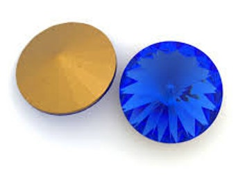 Swarovski Rivoli Chaton Round Crystals 12mm