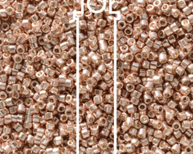 11/0 Delica DB-2503, Duracoat Galvanized Bright Copper, 7.2 gram Tube