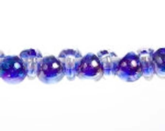 Teardrops Unicorn MINI CIRCUS BUBBLES # 2404  25 Beads