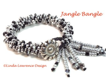 Kumihimo Bracelet Complete Kit JANGLE DANGLE BANGLE Choose from 5 Colorways