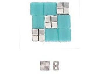 CYMBAL Voutakos Tila Bead Substitute  10 pieces