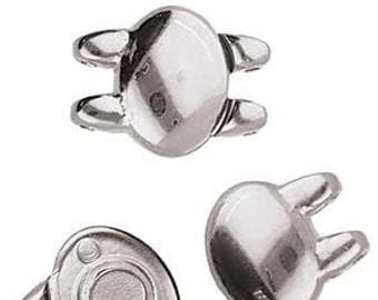Cymbal  Superduo KYPRI Magnetic Clasp, Choose your Color
