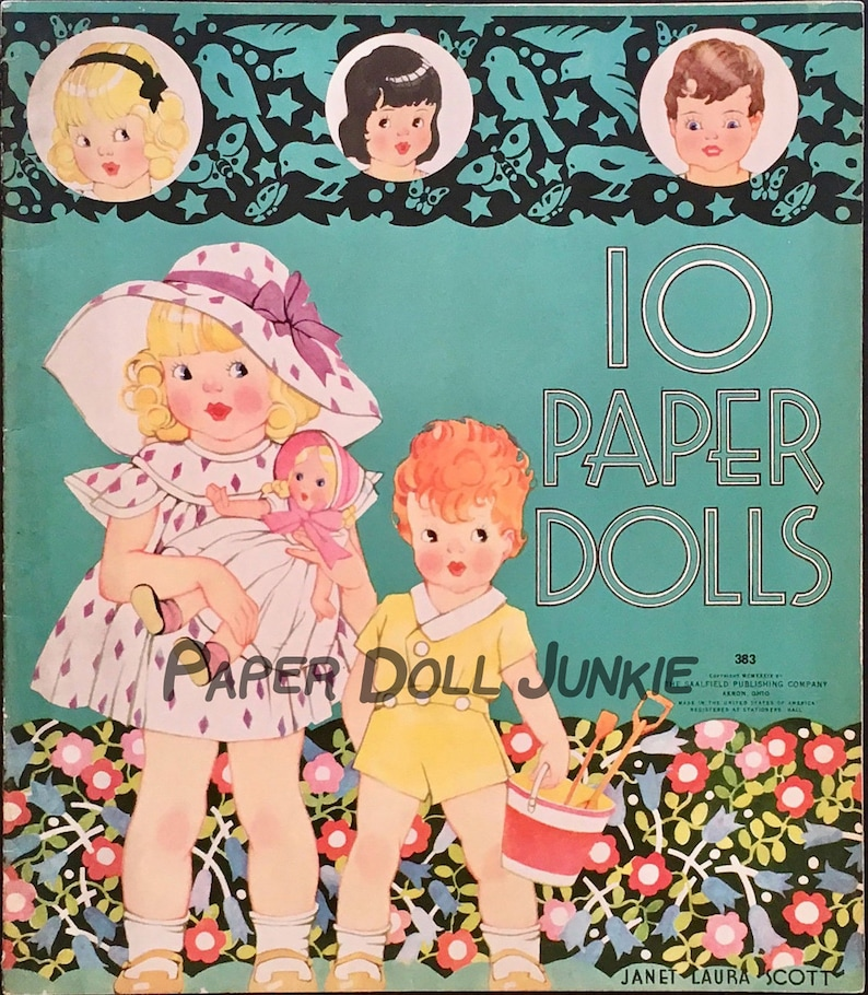 photograph relating to Printable Vintage Paper Dolls named Fastened of 10 Printable Basic Paper Dolls and 59 Apparel as well as plenty of equipment