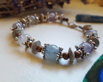 fluorite crystal bracelet