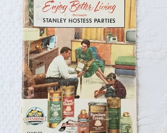 1950s Catalog Home & Beauty Products Stanley Hostess Parties