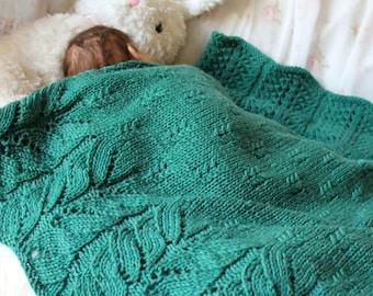 Bee Tree Baby Blanket / Adult Throw