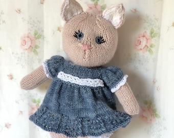 Sweet Suzi's Sunday Undies Knit Kitty Pattern