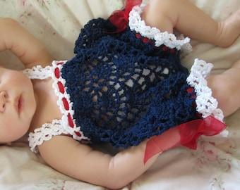 Cassidy Romper Bubble Sunsuit Onesie Crochet Pattern