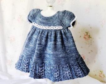 Sweet Suzi Dress Knit Pattern Size 0 to 3 T