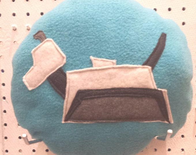 K9 Danger Mistress  Round Fleece Pillow