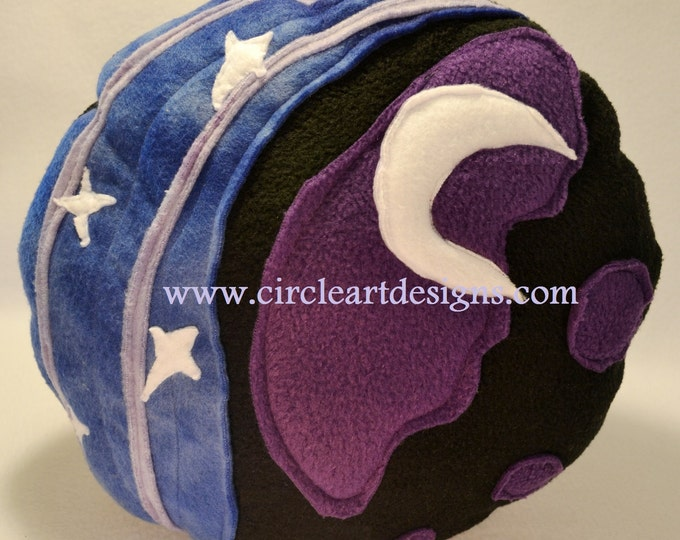 Mid Night Mare Cutie Pillow made of fleece