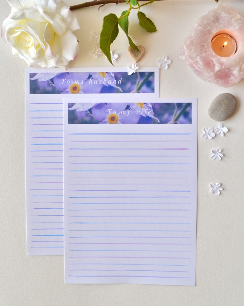 Anniversary Gift Letter To Husband / Wife | Love Letters | Letter Writing  Bundle | Unique Gift Idea