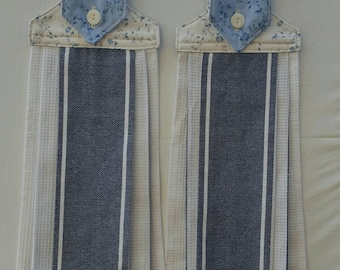Hanging kitchen towels - Set of two towels