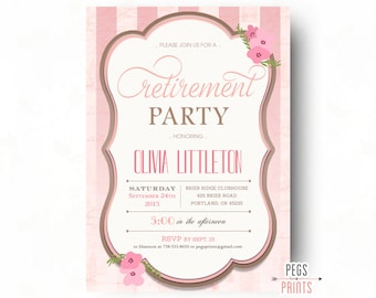 mint glitter retirement party invitation retirement party etsy