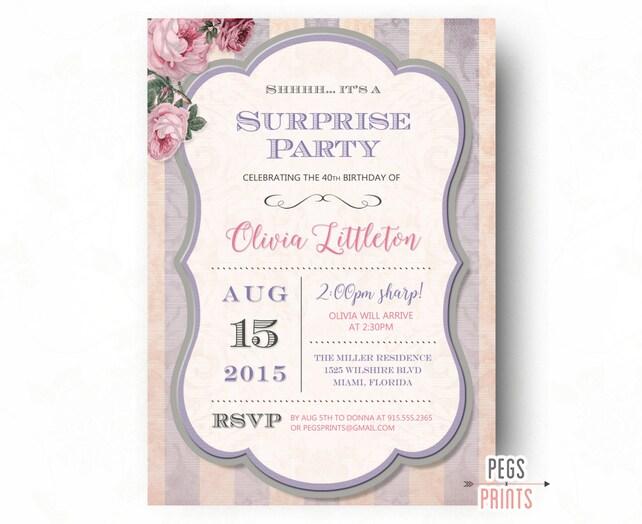 Surprise birthday party invitation printable adult surprise etsy image 0 filmwisefo