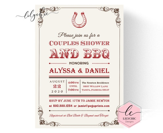 i do bbq couples shower invitation printable backyard bbq