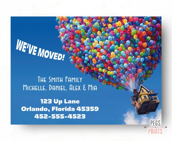 Moving Announcement Printable We Ve Moved Cards New Home