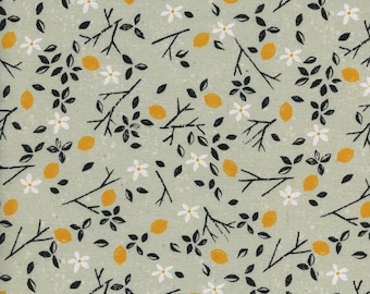 One Yard - 1 Yard of Lemon Trees Mint - FROM PORTO with LOVE by Sarah Watts - Cotton & Steel